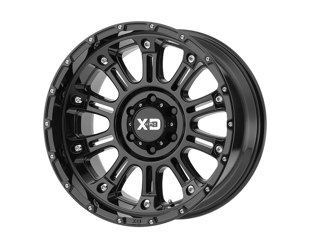 XD Series XD82920485376N XD829 Hoss II Wheel 20x14 5x5x139.7 -76mm Gloss Black
