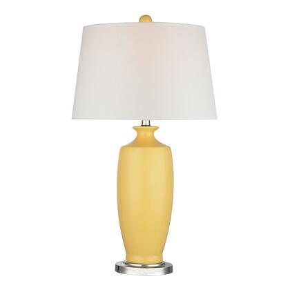 D2505 Sunshine Yellow Ceramic Table Lamp  In