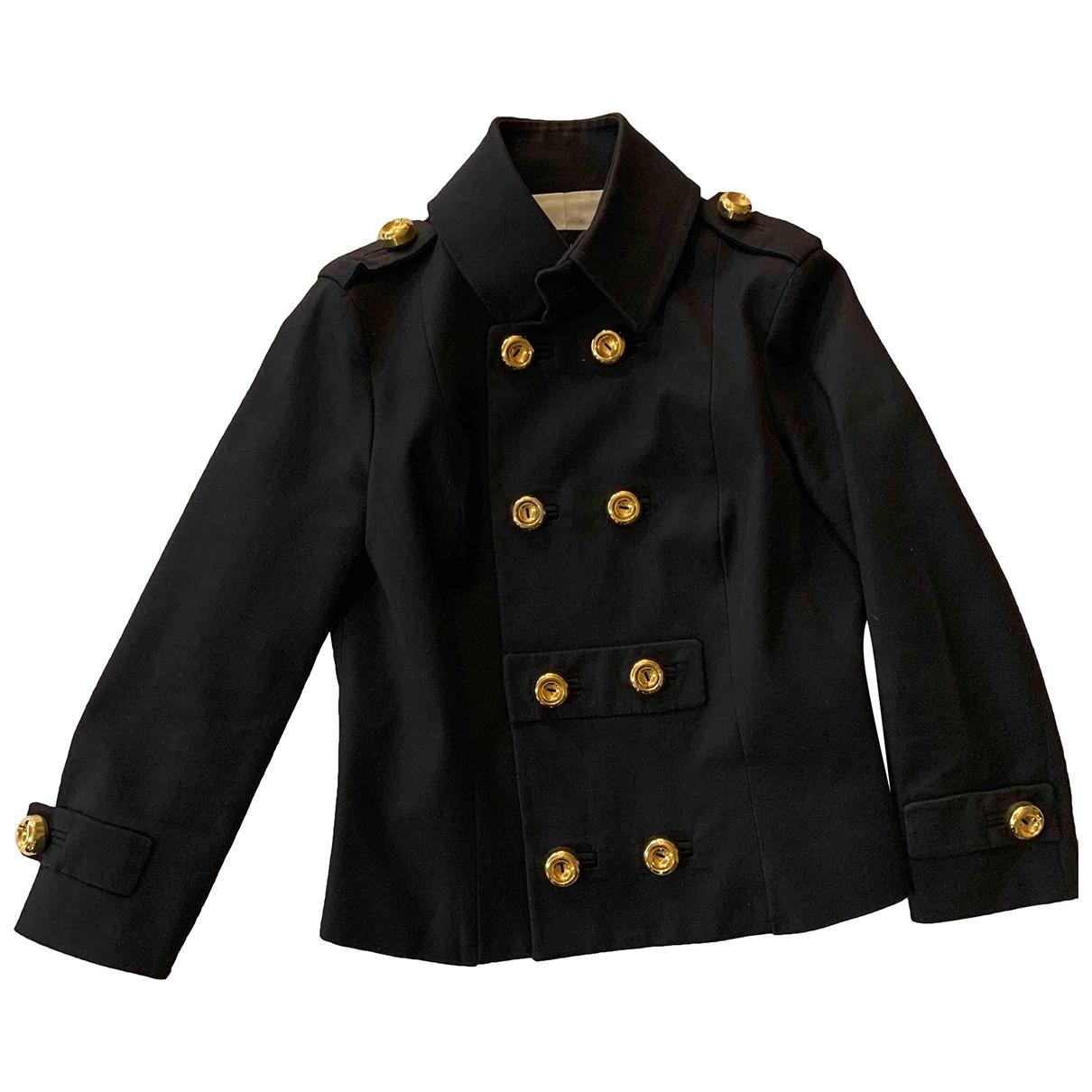Dsquared2 \N Blue Cotton jacket for Women 46 IT