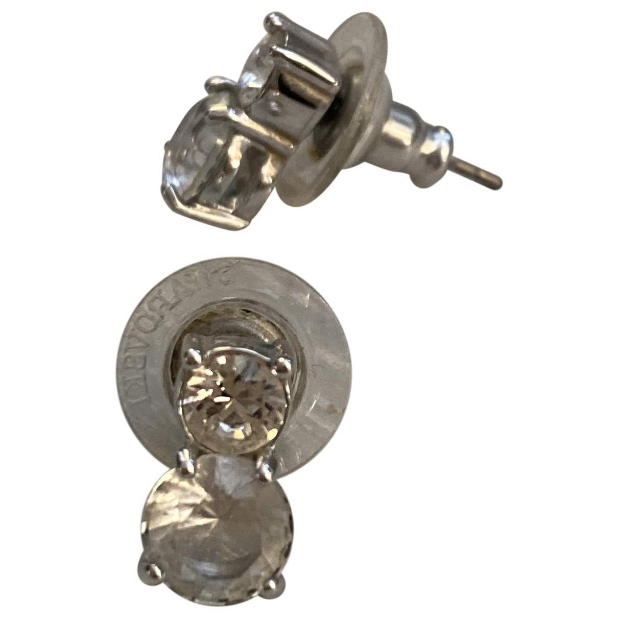 Swarovski - Boucles doreilles   pour femme en acier - argente
