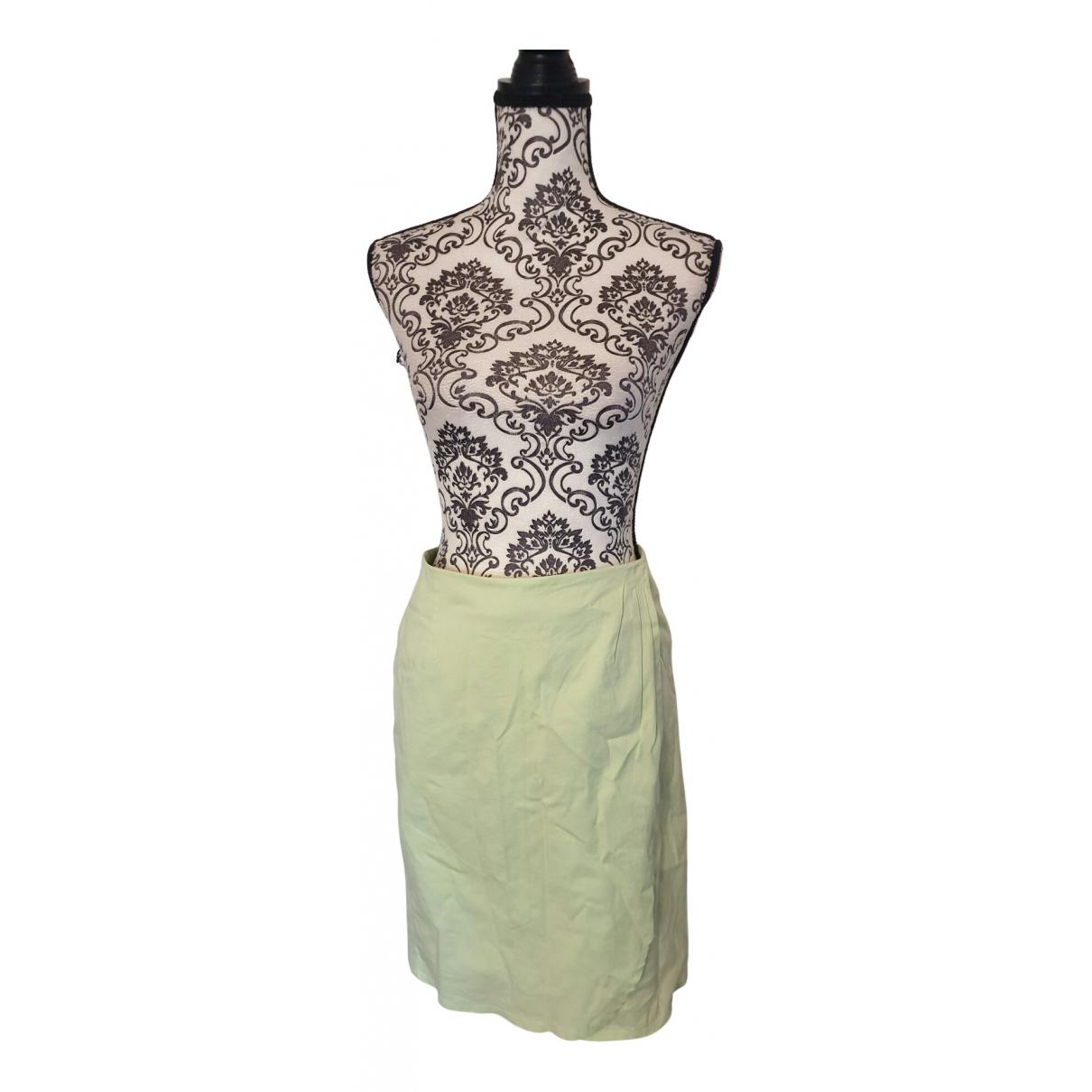Cyrillus - Jupe   pour femme en coton - vert