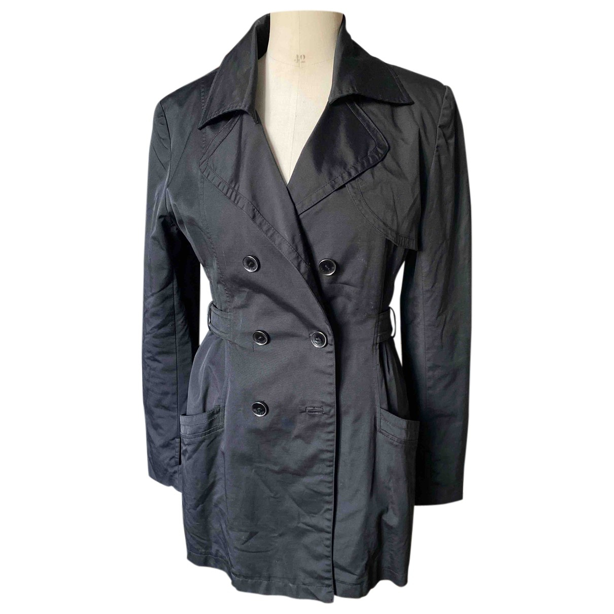Guess \N Trench in  Schwarz Polyester