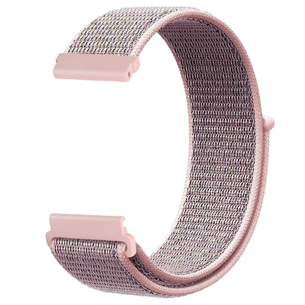 Replacement Watch Band For Huami Amazfit GTS Loop Nylon Canvas Strap - Pink