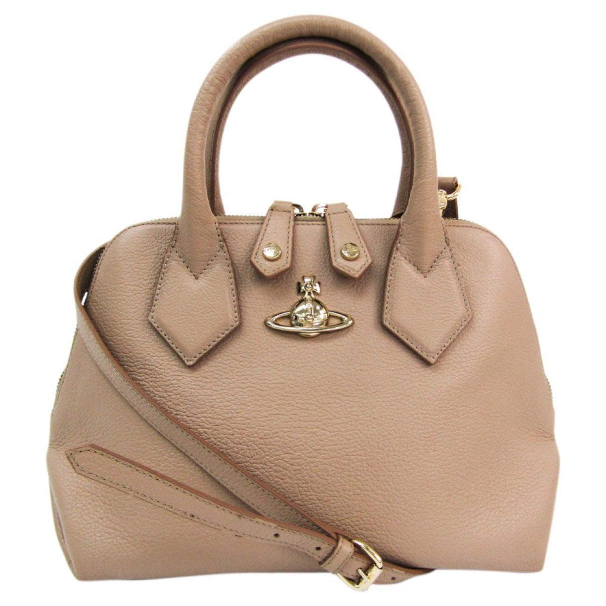 Vivienne Westwood N Beige Leather handbag for Women N