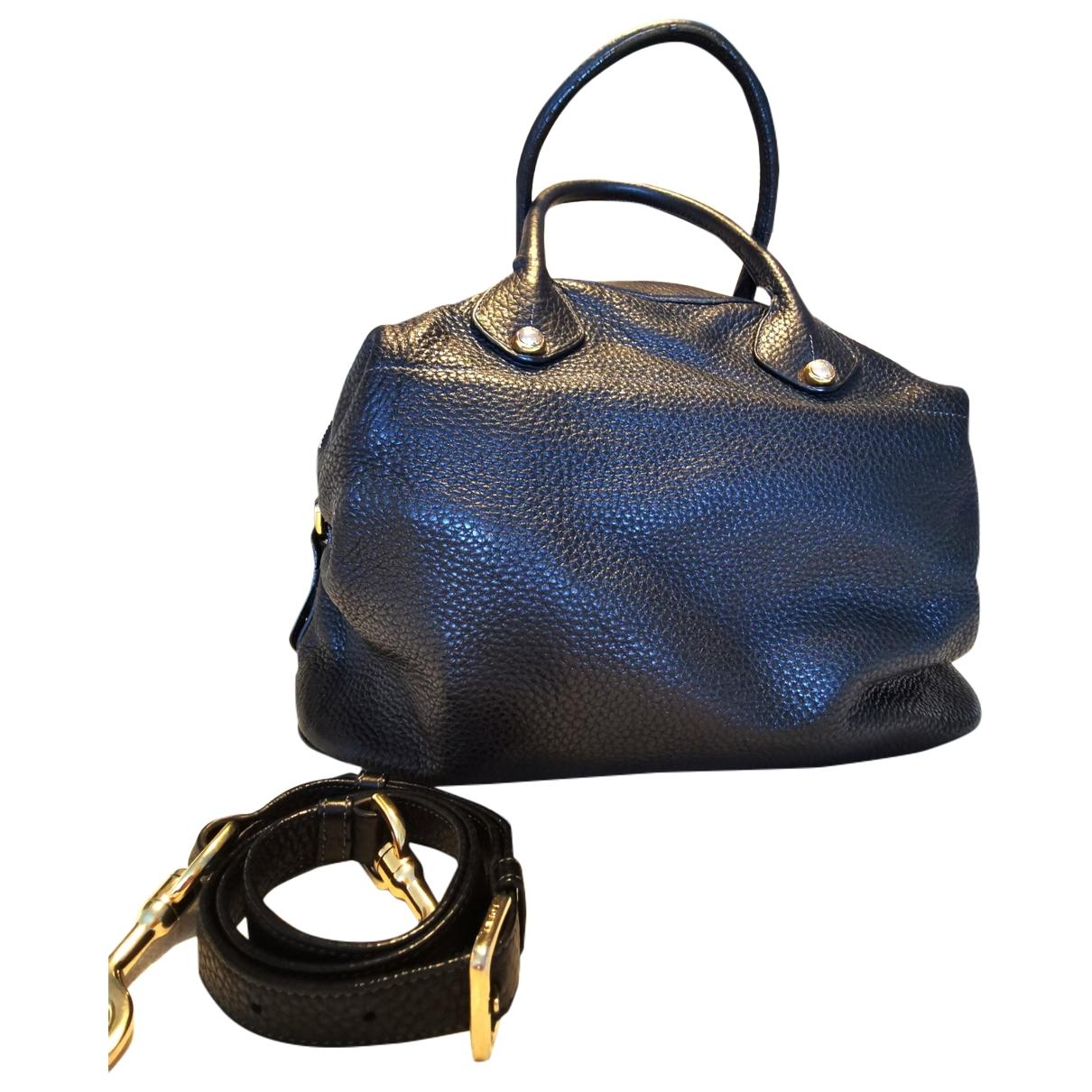 Loewe \N Handtasche in  Schwarz Vogelstrauss
