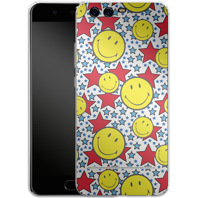 Huawei P10 Silikon Handyhuelle - Preppy Colors von Smiley®