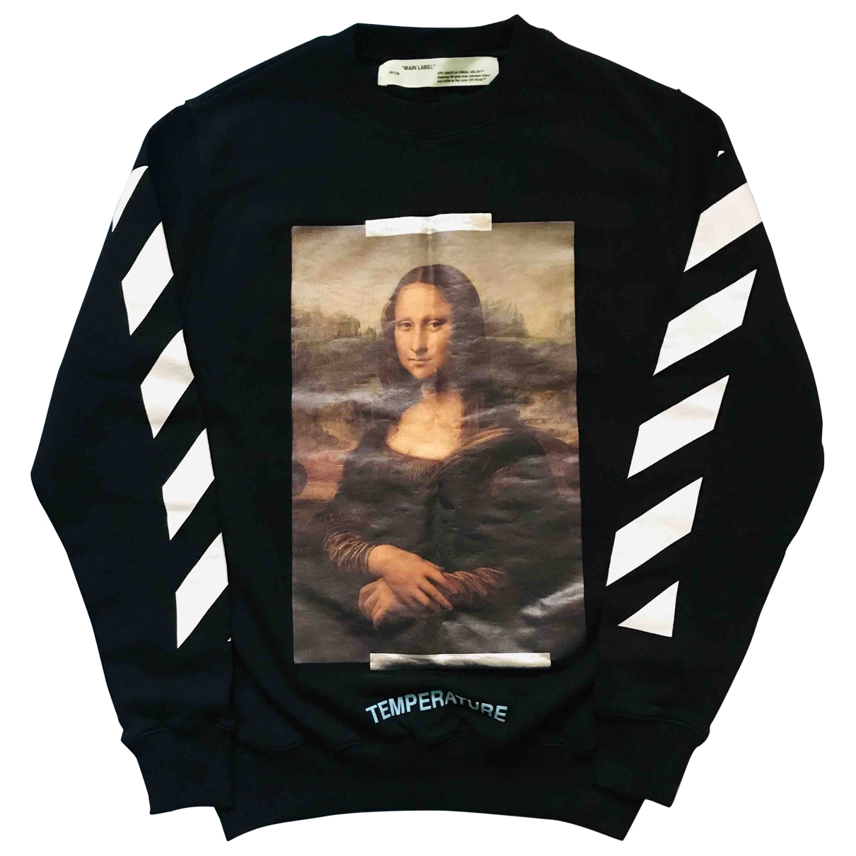 Off-white \N Black Cotton Knitwear & Sweatshirts for Men XS International