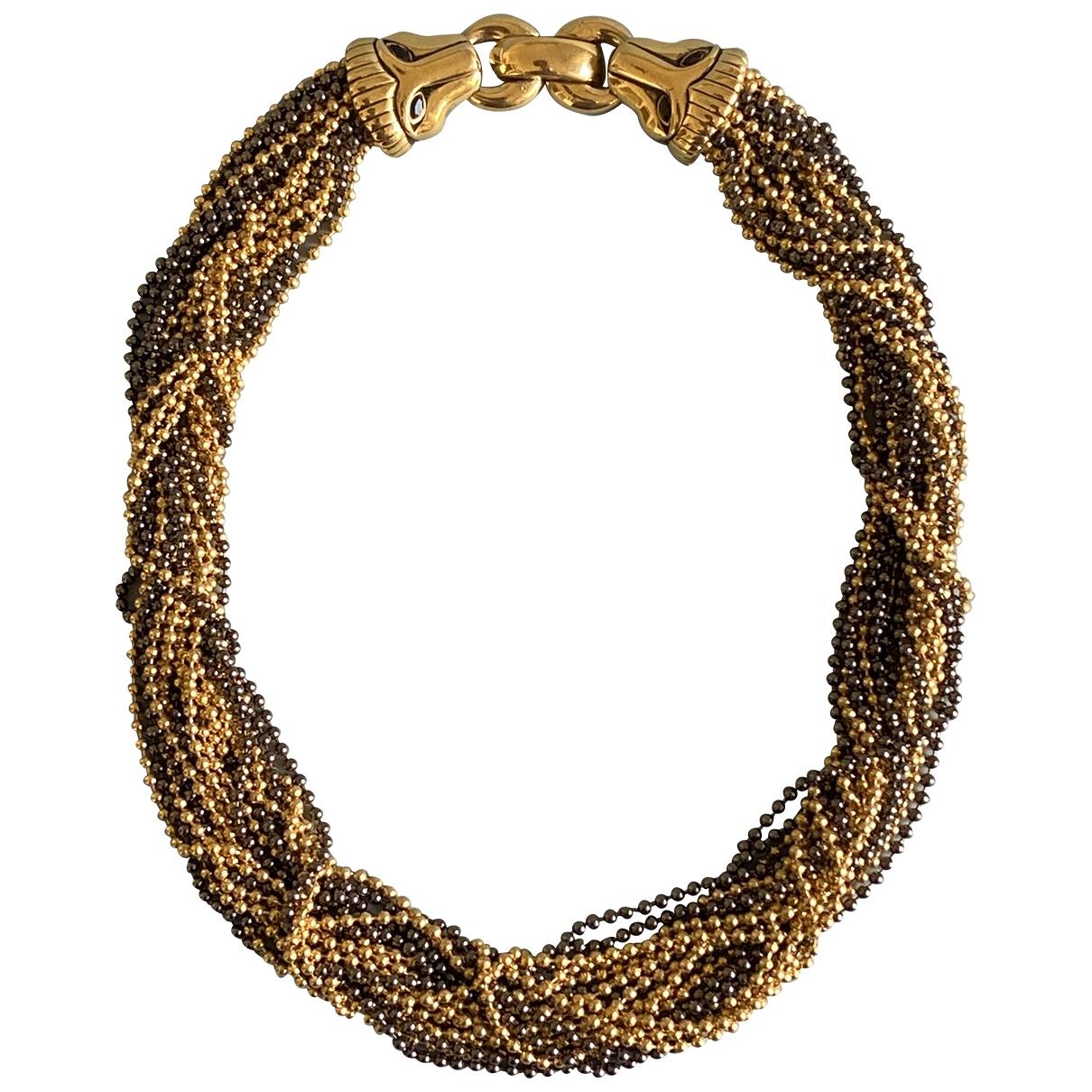 Givenchy - Collier   pour femme en plaque or - dore