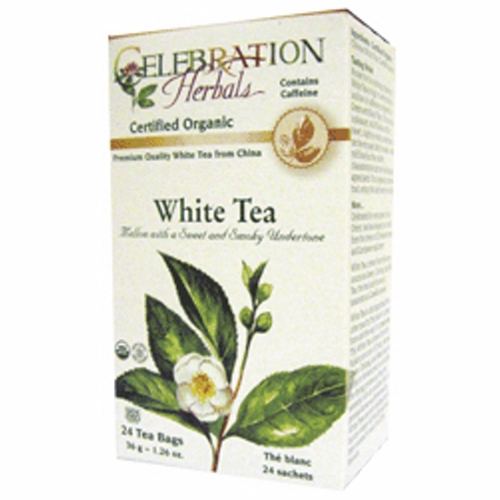 Organic White Tea 24 Bags by Celebration Herbals