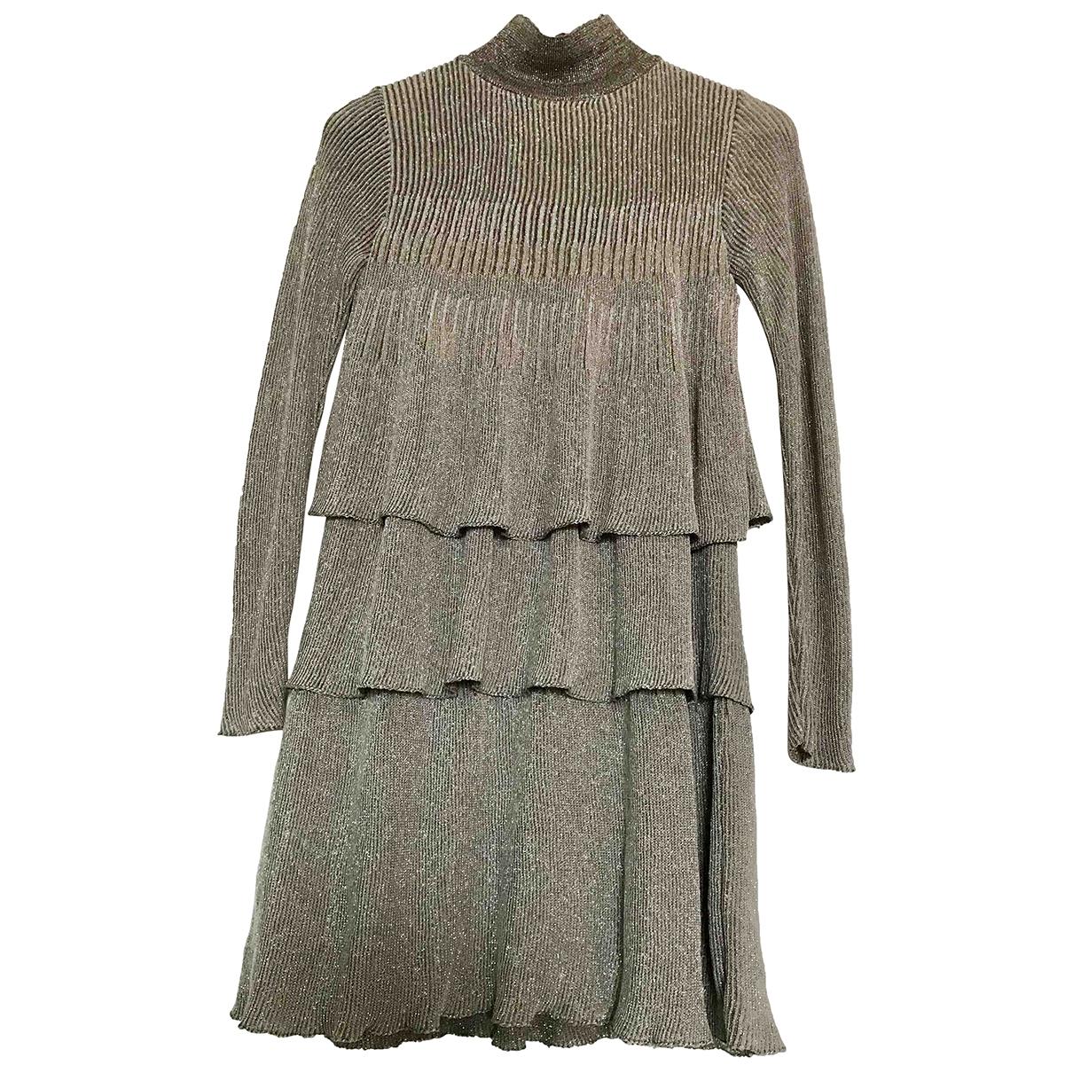 Zara \N Gold dress for Women S International