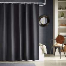 Solid Color Shower Curtain