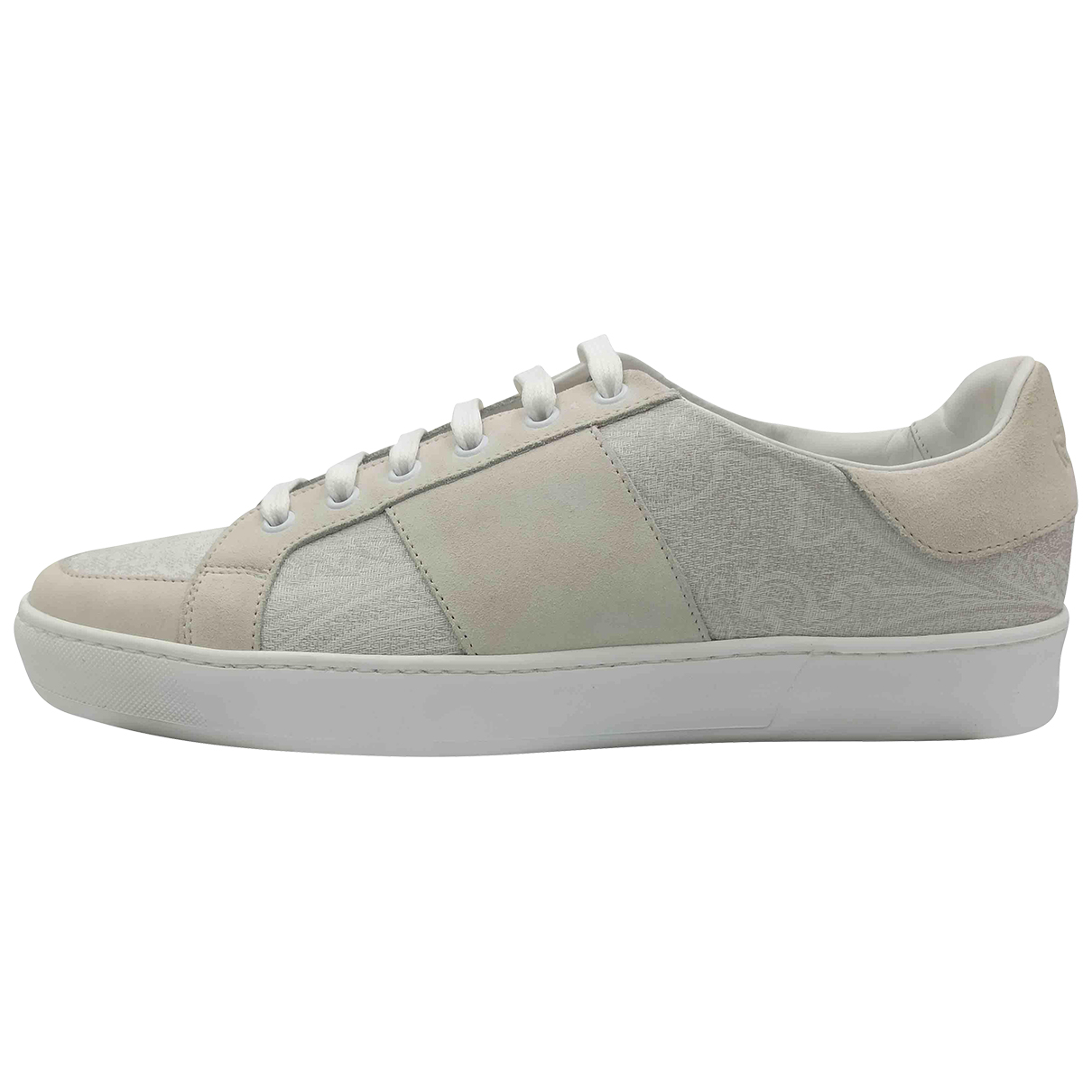 Etro \N Ecru Leather Trainers for Men 42 EU