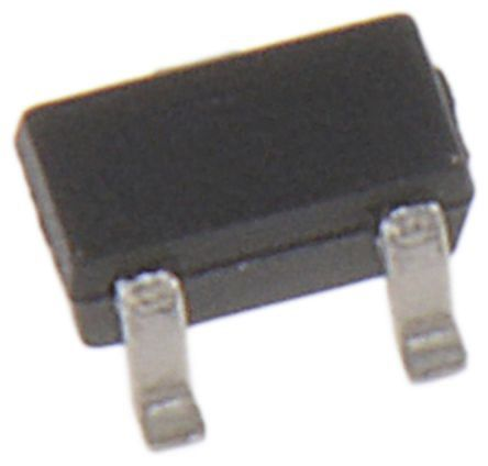 ON Semiconductor N-Channel MOSFET, 915 mA, 20 V, 3-Pin SC-89  NTE4153NT1G (3000)