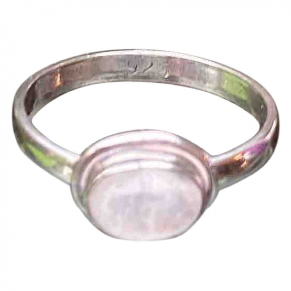Non Signé / Unsigned \N Silver Silver ring for Women 52 MM