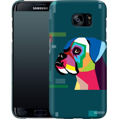 Samsung Galaxy S7 Edge Smartphone Huelle - Pop Dog von Mark Ashkenazi