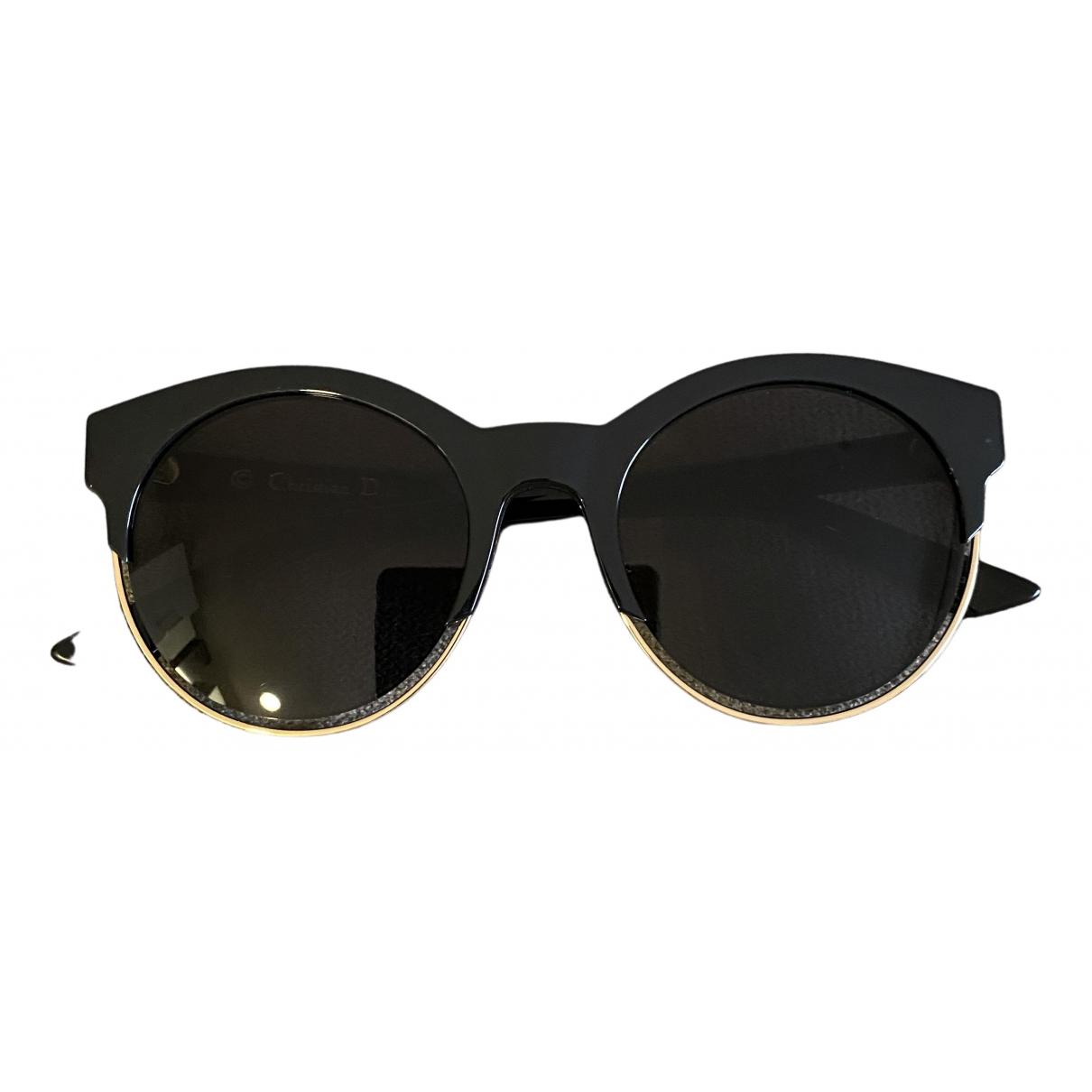 Dior Sideral 2 Sonnenbrillen in  Schwarz Kunststoff