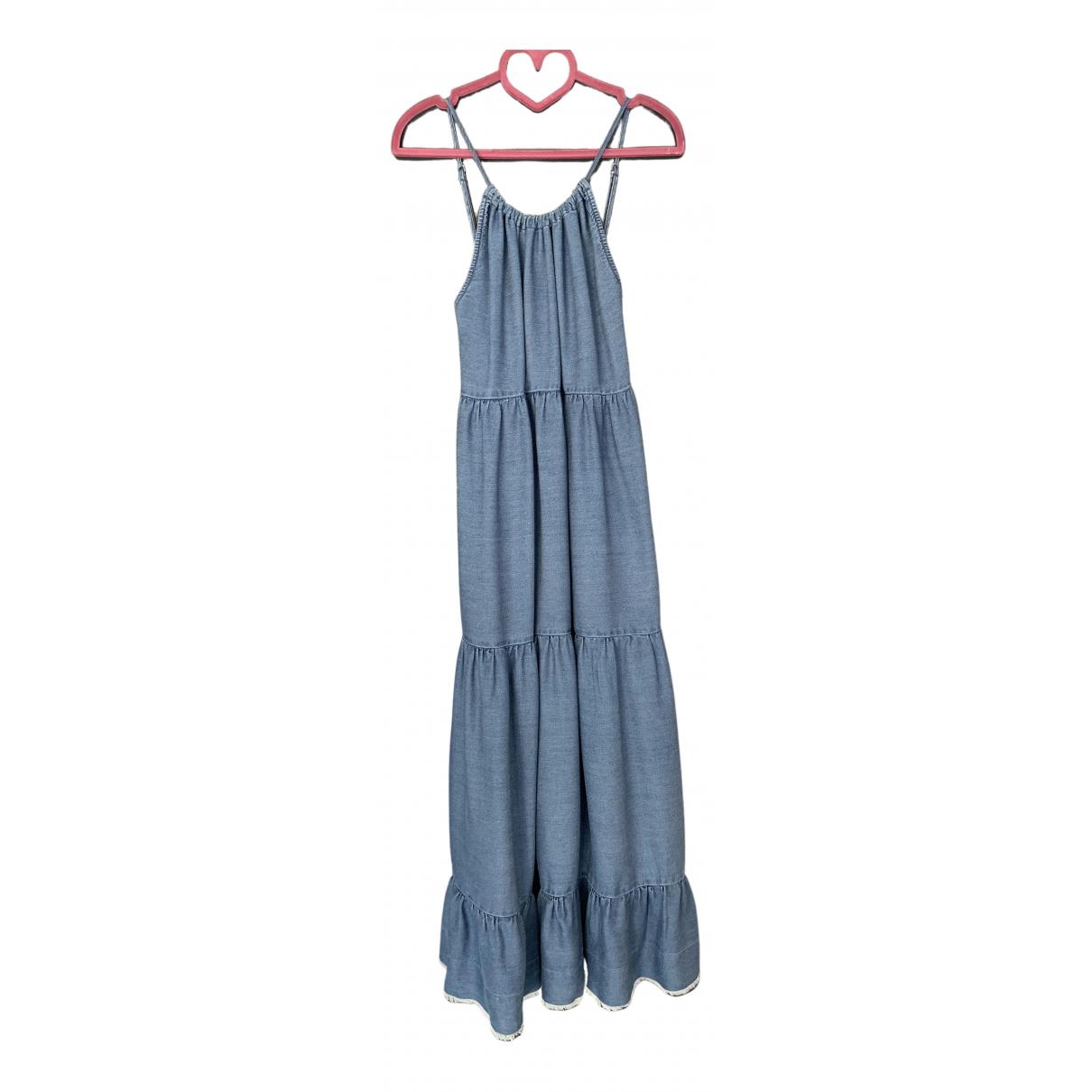 Paul & Joe Sister \N Kleid in  Blau Viskose