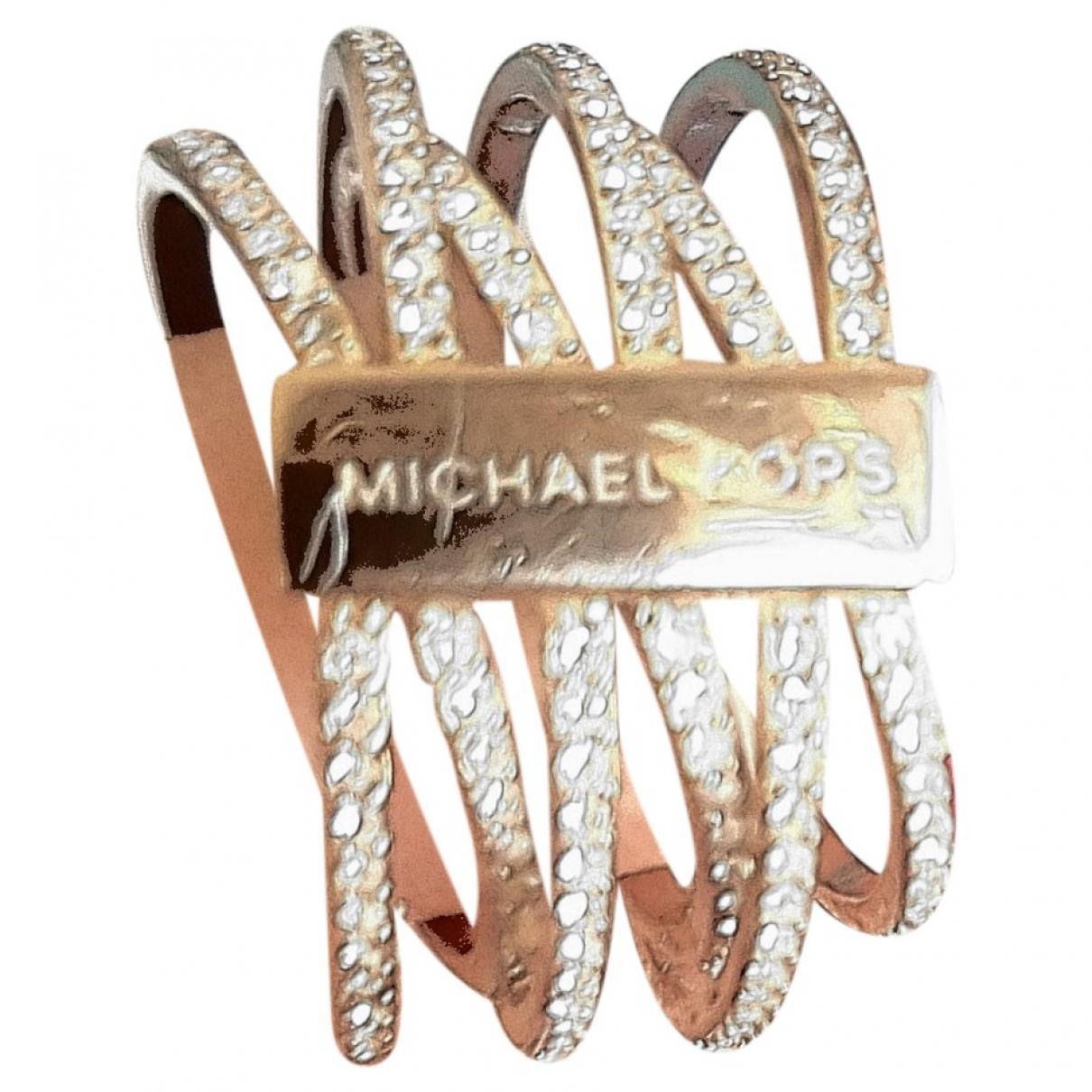 Michael Kors \N Ring in  Rosa Metall