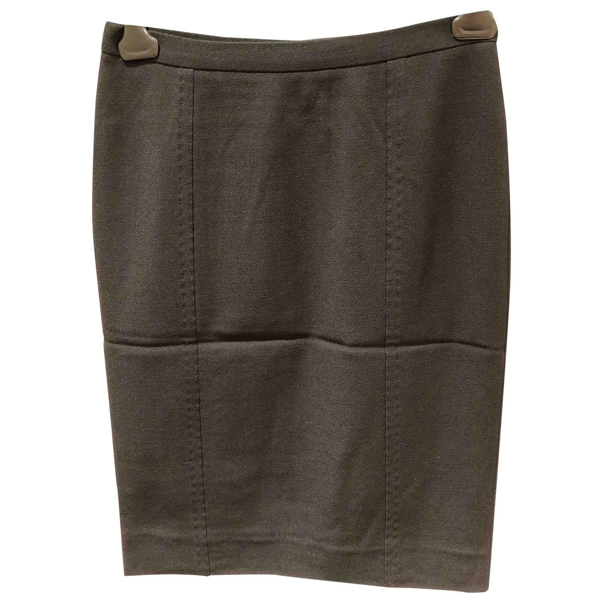 Dolce & Gabbana \N Black Wool skirt for Women 40 IT