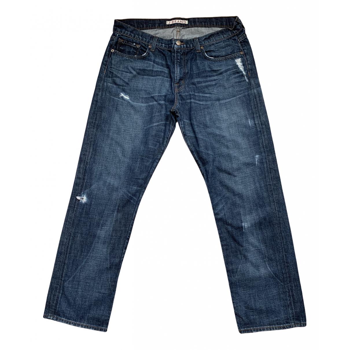 Pantalones en Algodon Azul J Brand