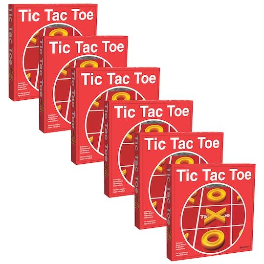 Pressman® Tic Tac Toe Board Game, ct Of 6 By Pressman Toys | Michaels®