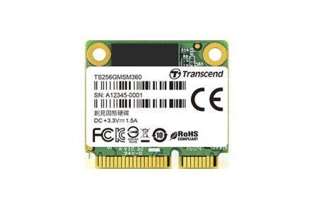 Transcend MSM360 mSATA 16 GB SSD Hard Drive