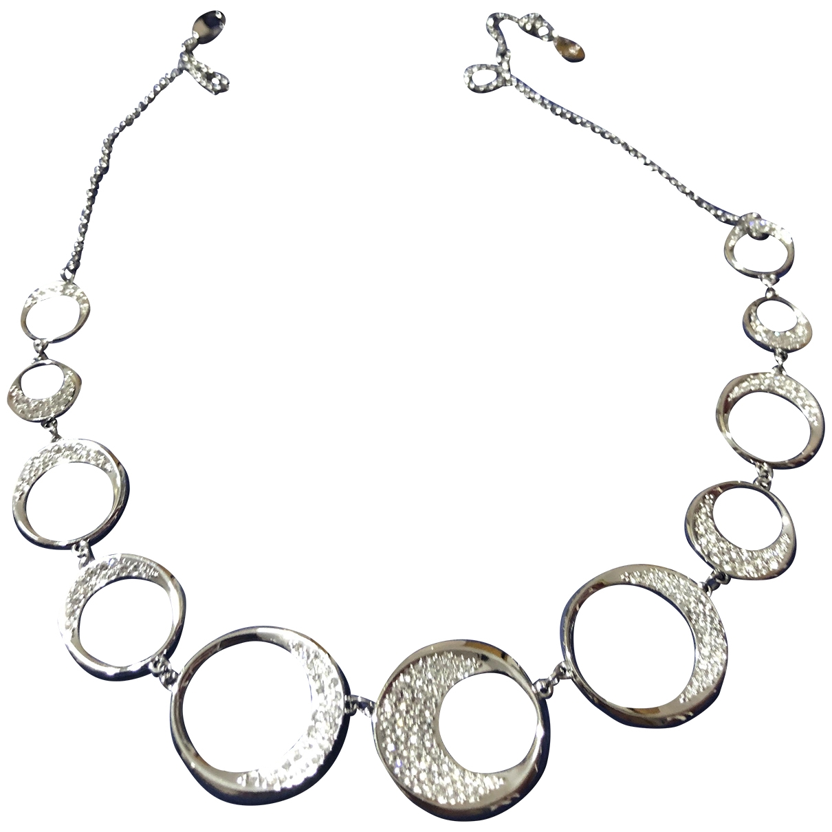 Swarovski Fit Silver Crystal necklace for Women \N