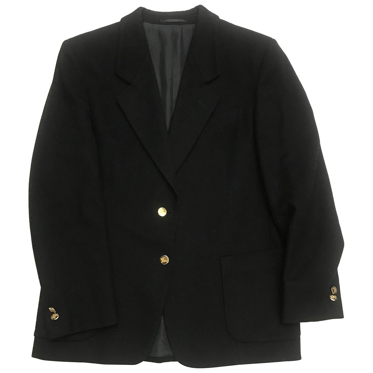 Burberry - Veste   pour femme en laine - noir
