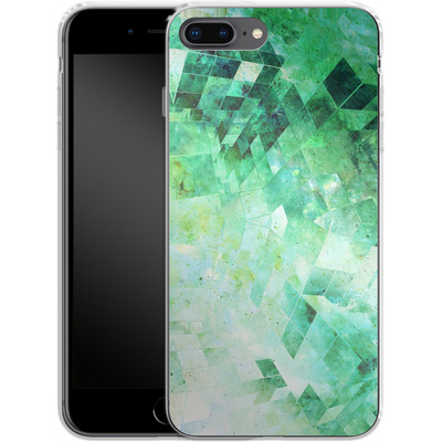 Apple iPhone 8 Plus Silikon Handyhuelle - Occult Galaxy Structure von Barruf