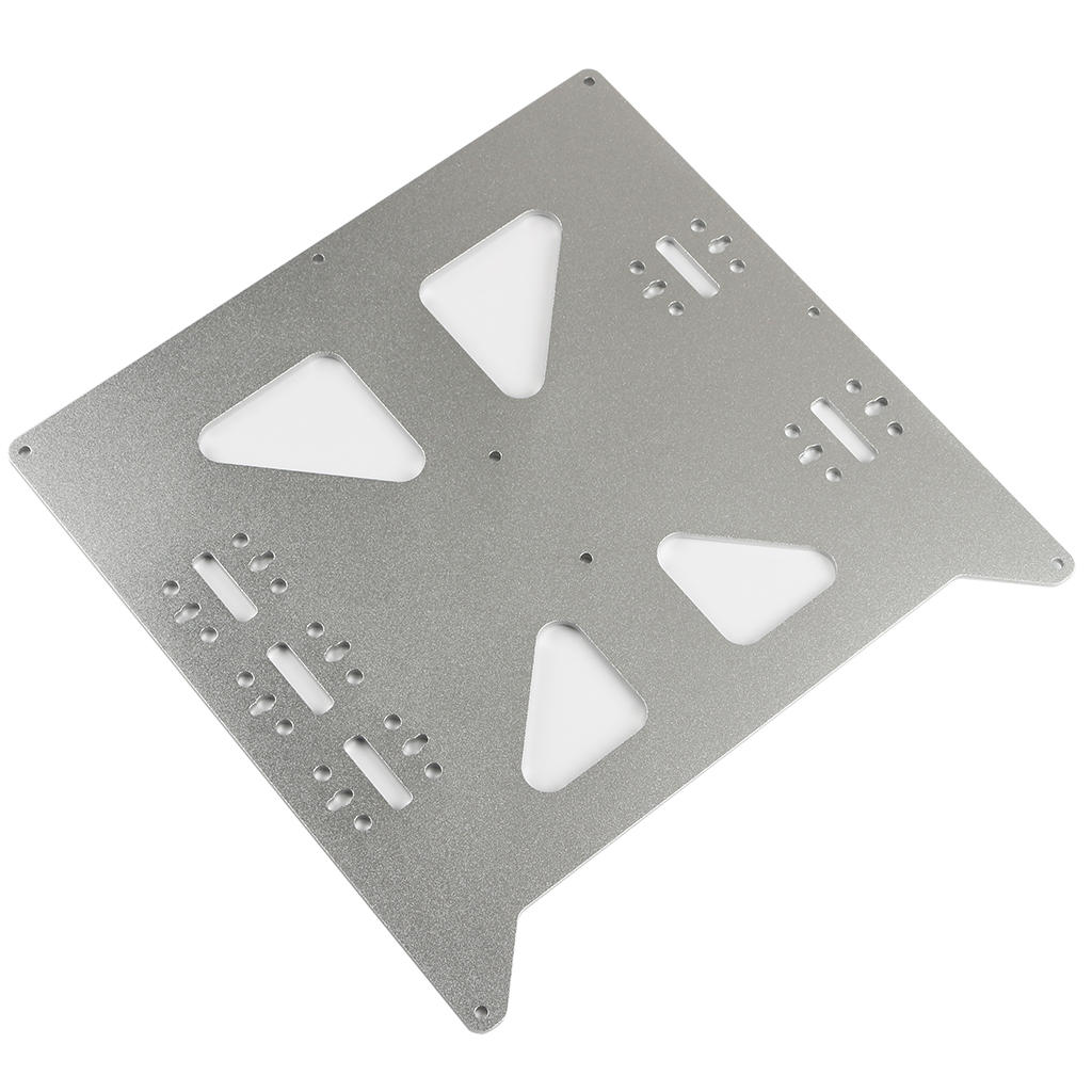 V2 Hot Bed Support Plate Y-Axis Heated Bed Aluminum Oxidation Base Plate for Prusa I3 3D Printer