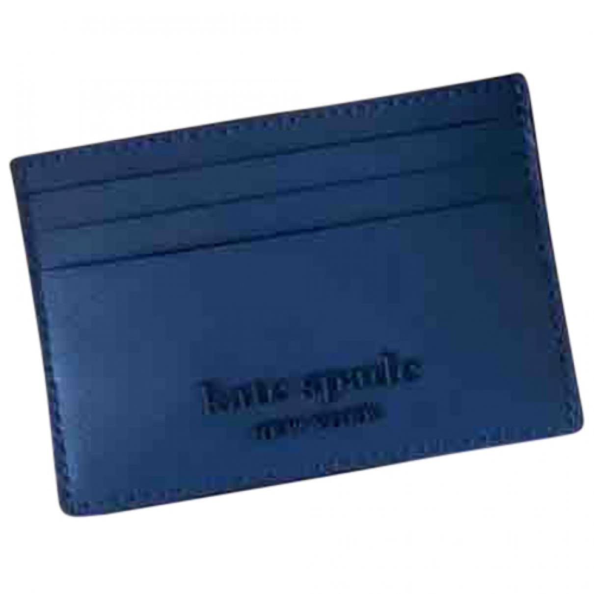 Kate Spade - Petite maroquinerie   pour femme en cuir - bleu