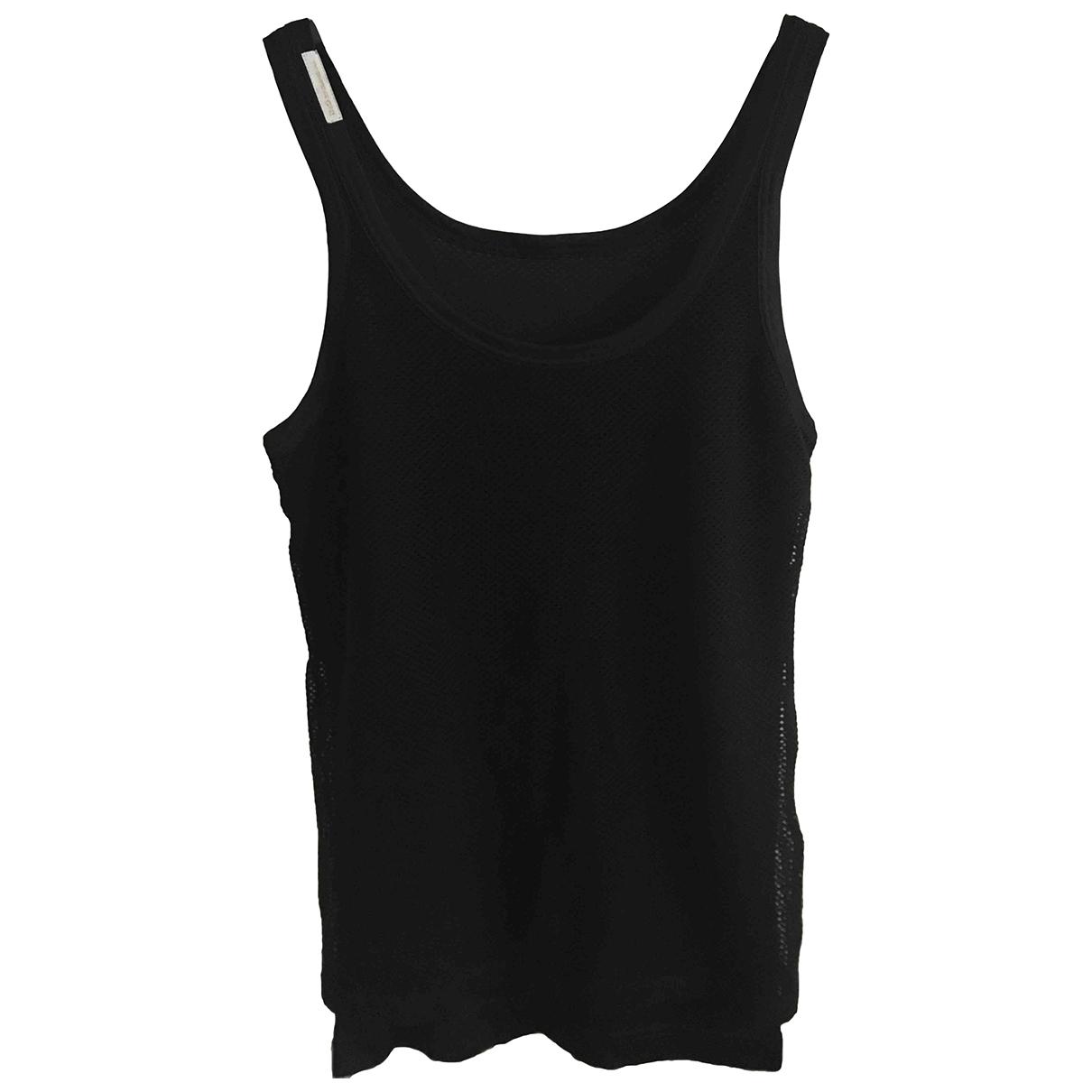 D&g \N Black Cotton  top for Women 48 IT