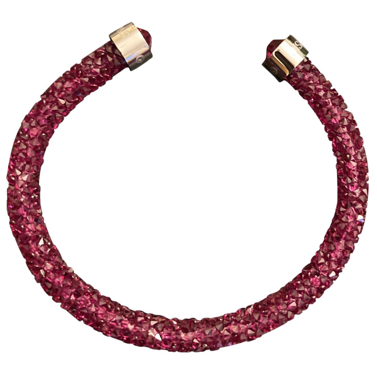 Swarovski - Bracelet Stardust pour femme en cristal - bordeaux