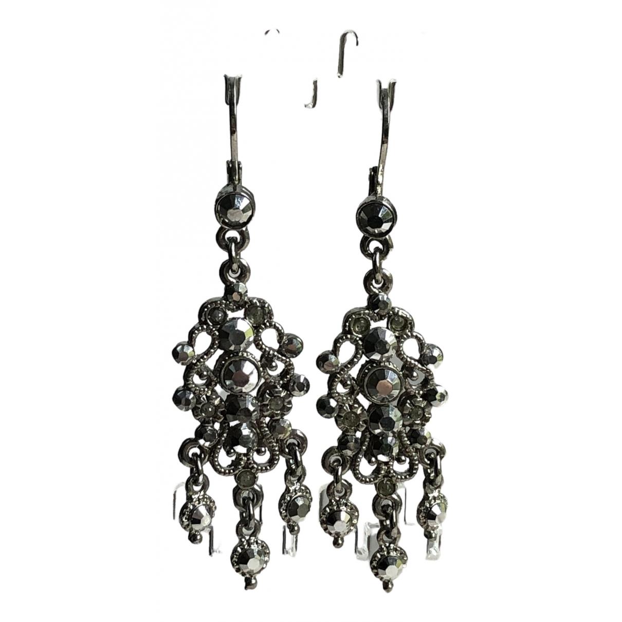 Topshop - Boucles doreilles   pour femme en metal - argente
