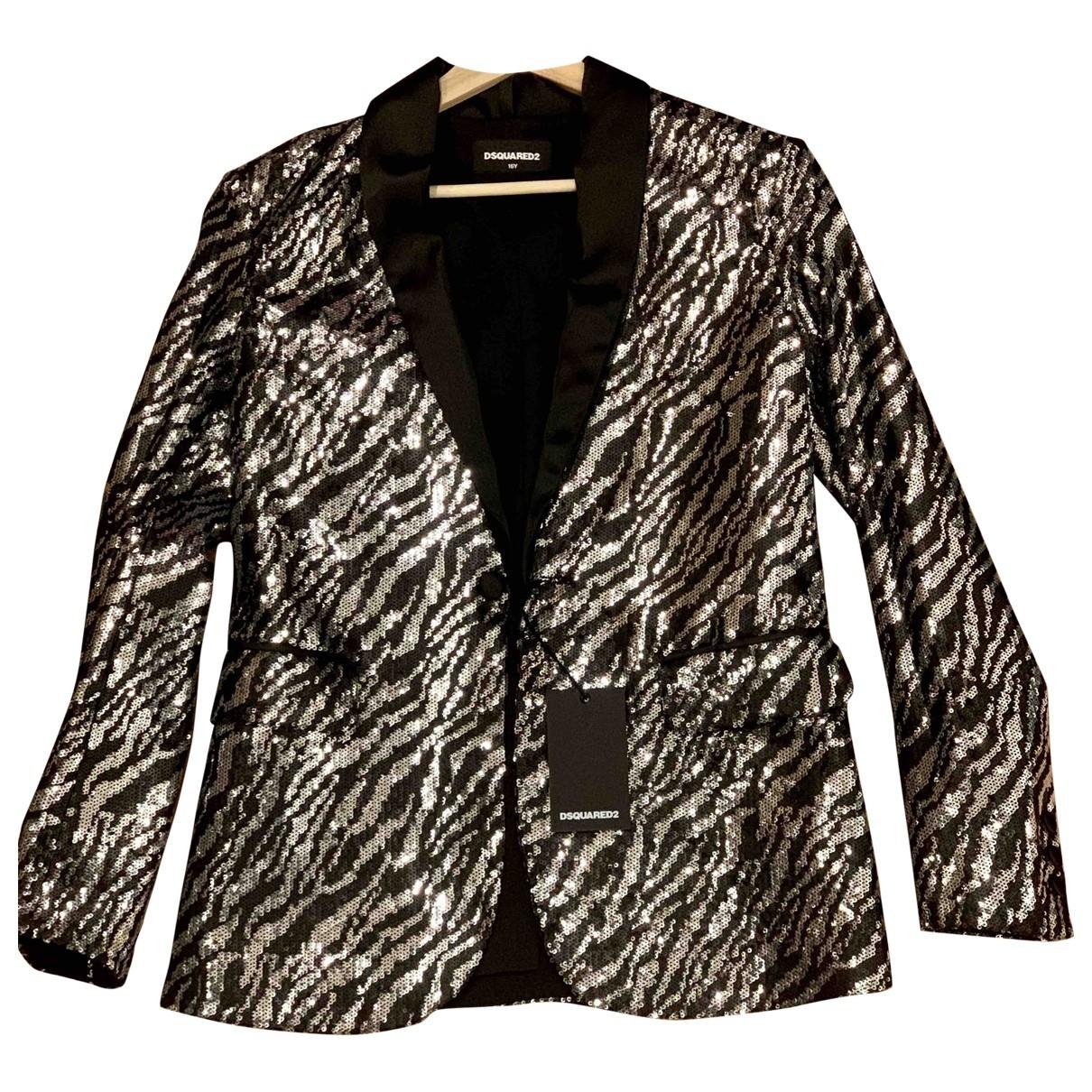 Dsquared2 - Veste   pour femme en a paillettes - gris