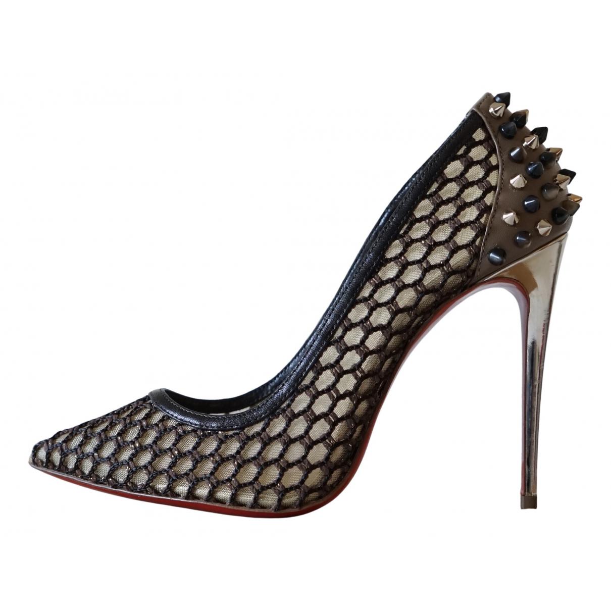 Christian Louboutin N Cloth Heels for Women 37 EU