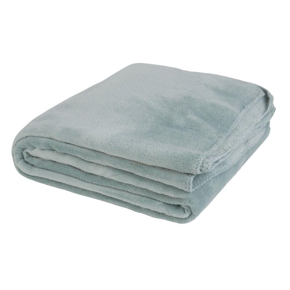 Decke aus Kunstfell, gruen 150x230