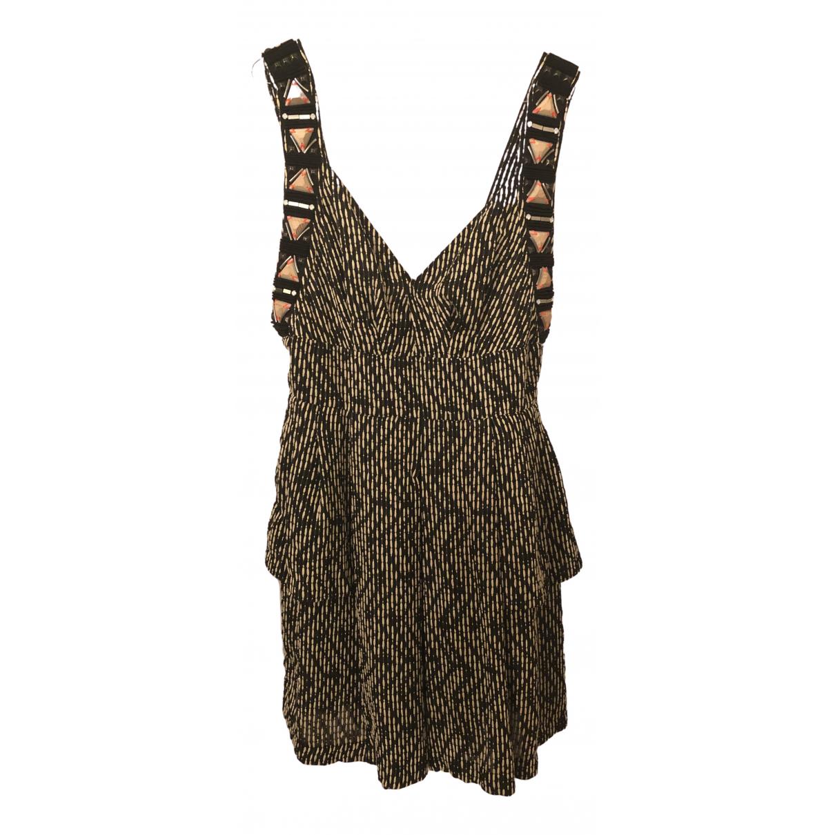 Matthew Williamson - Robe   pour femme en coton - noir