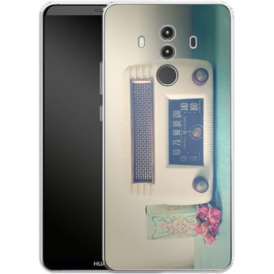 Huawei Mate 10 Pro Silikon Handyhuelle - Retro Radio von Joy StClaire