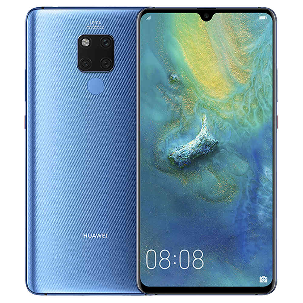 HUAWEI Mate 20 X 7.2 Inch 4G LTE Smartphone Kirin 980 6GB 128GB 40.0MP+20.0MP+8.0MP Android 9.0 NFC IR Remote Control Touch ID - Midnight Blue