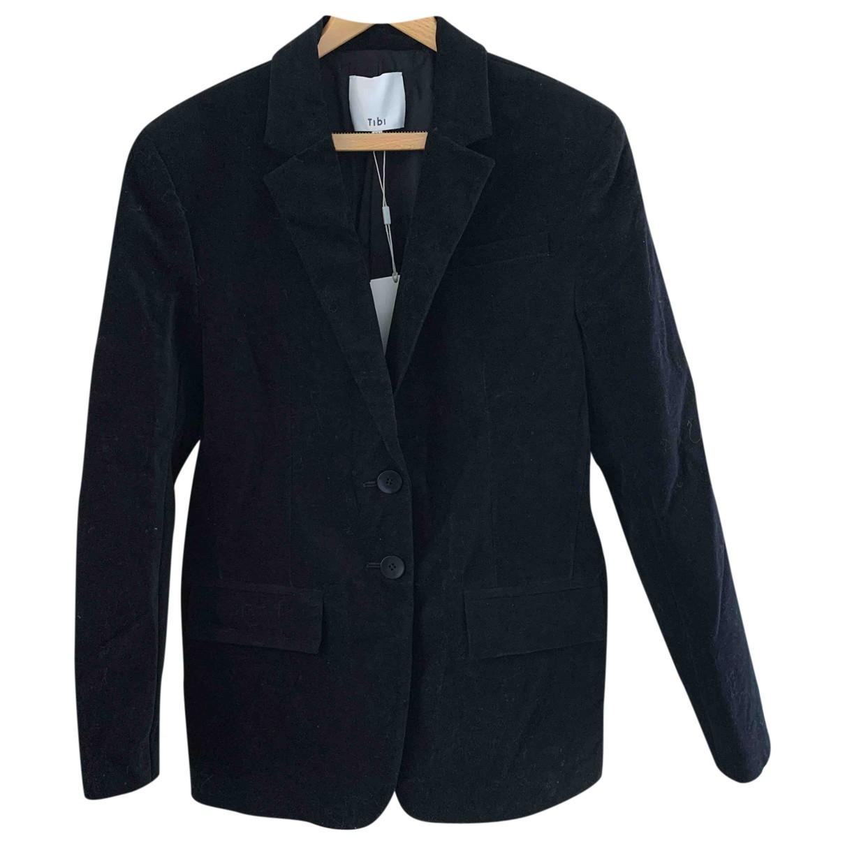 Tibi \N Black Velvet jacket for Women 38 FR