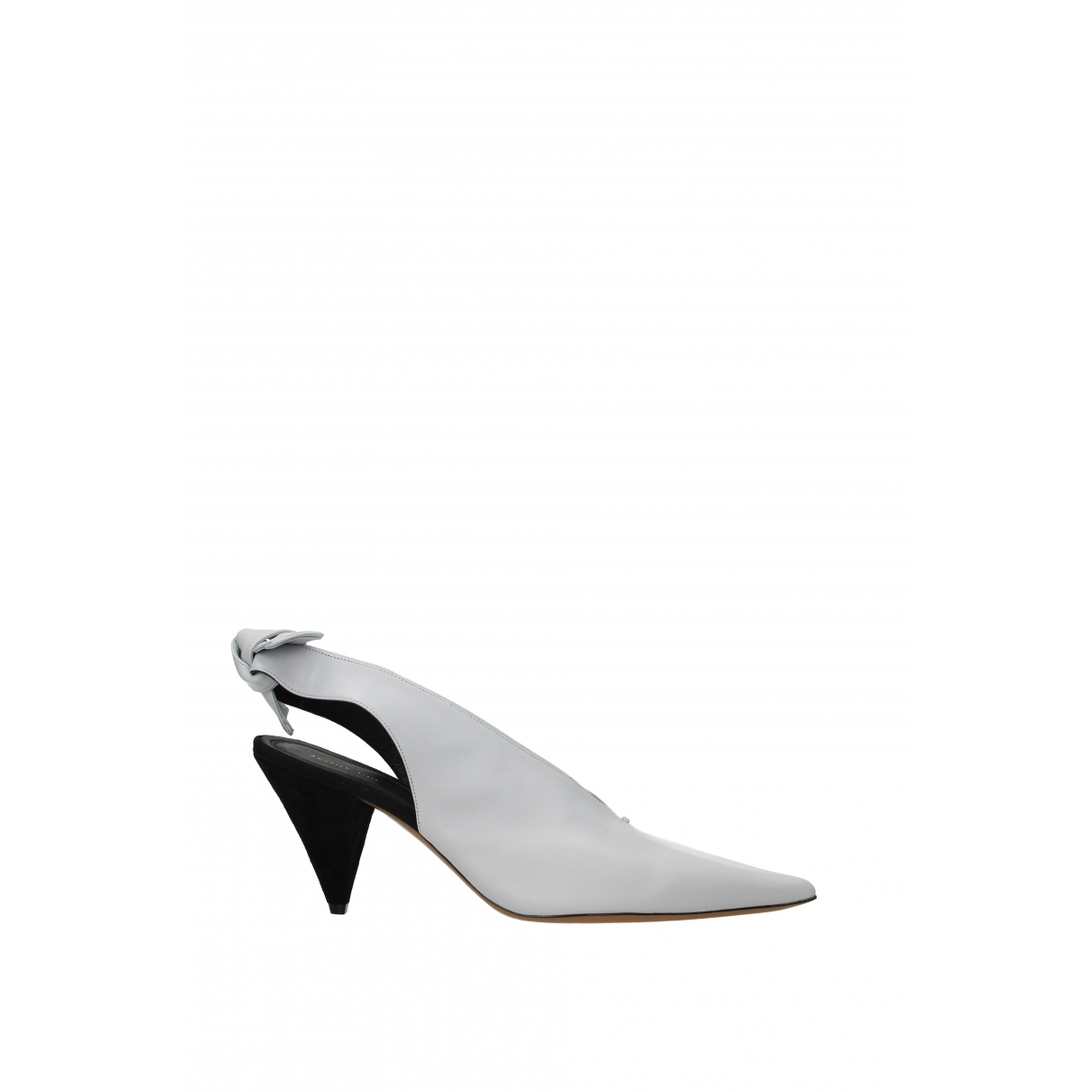 Celine \N White Leather Heels for Women 40 EU
