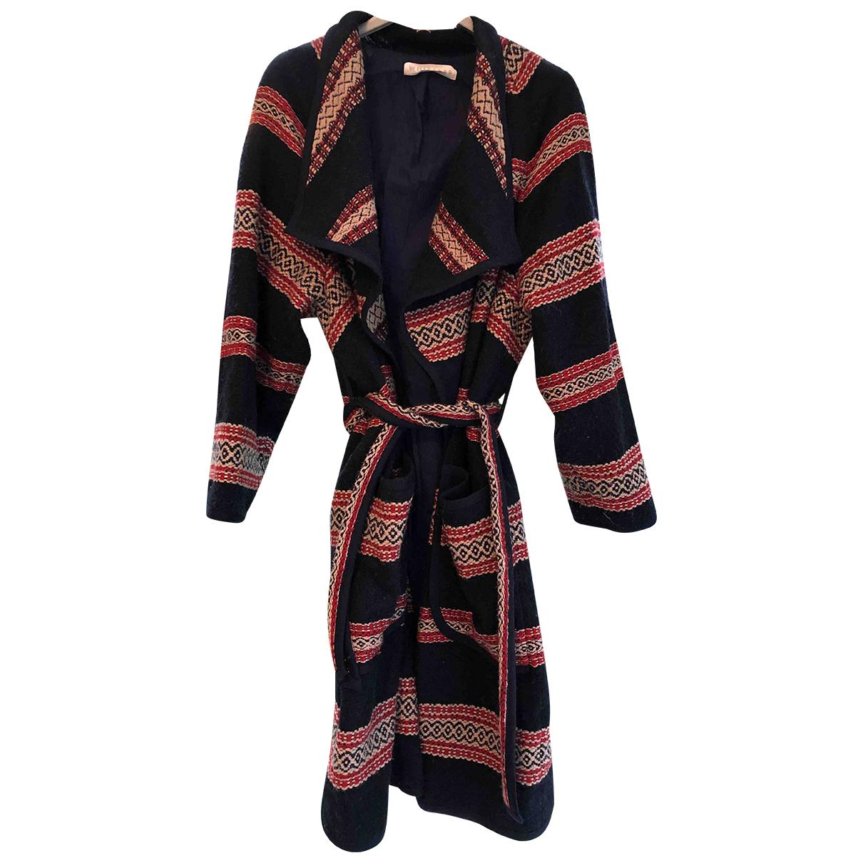 Whistles N Multicolour Wool coat for Women 10 UK