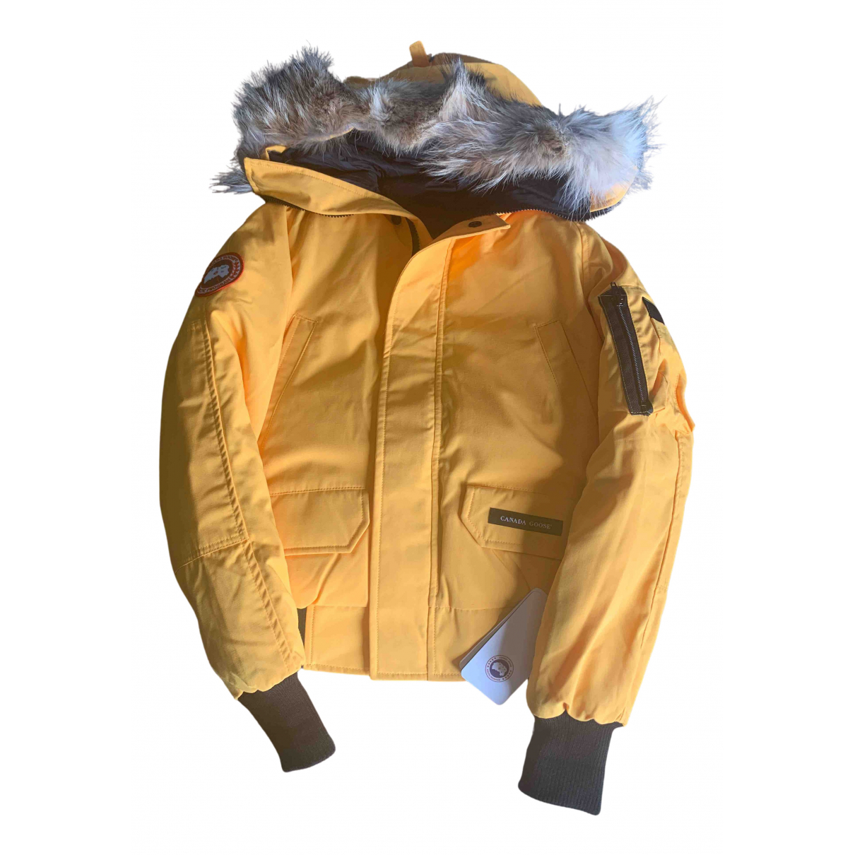 Canada Goose Chilliwack Yellow Cotton jacket & coat for Kids 12 years - XS FR