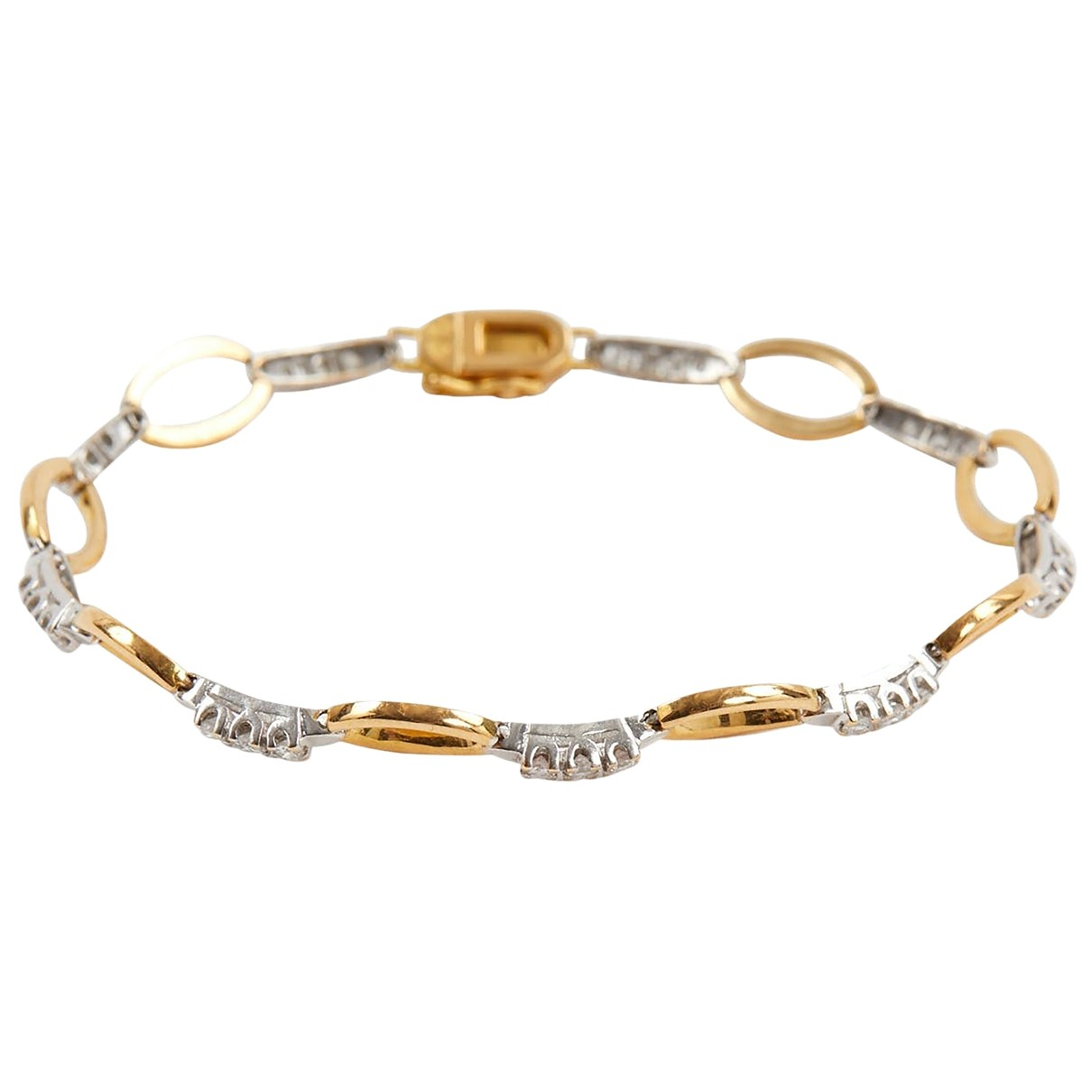 Autre Marque - Bracelet   pour femme en or jaune - jaune