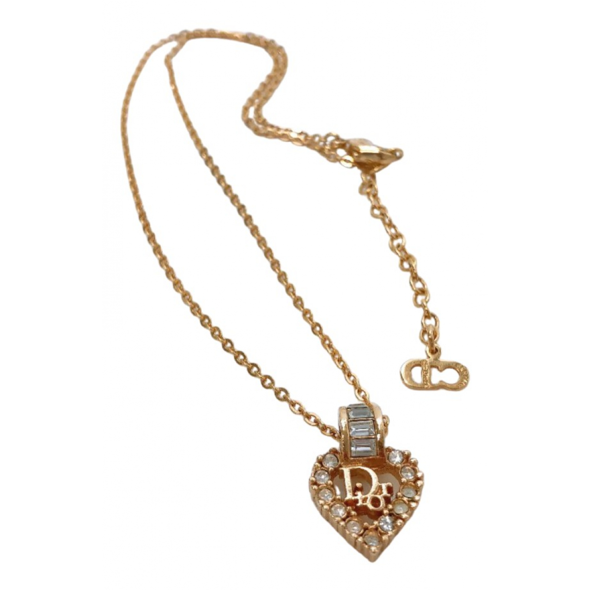 Christian Dior \N Kette in  Gold Metall