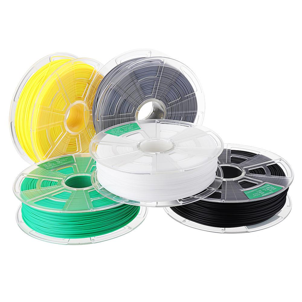 WINBO Black/White/Gray/Lemon Yellow/Green/Orange/Pink 1KG/Roll 1.75mm ABS Filament for 3D Printer