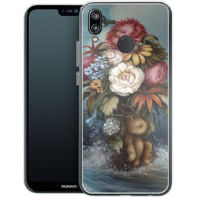 Huawei P20 Lite Silikon Handyhuelle - Hopeless Romantic von Dan May