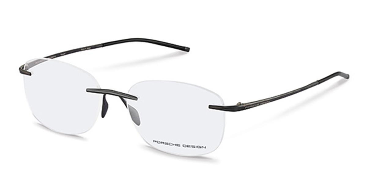 Porsche Design P8362 A Men's Glasses Black Size 55 - Free Lenses - HSA/FSA Insurance - Blue Light Block Available