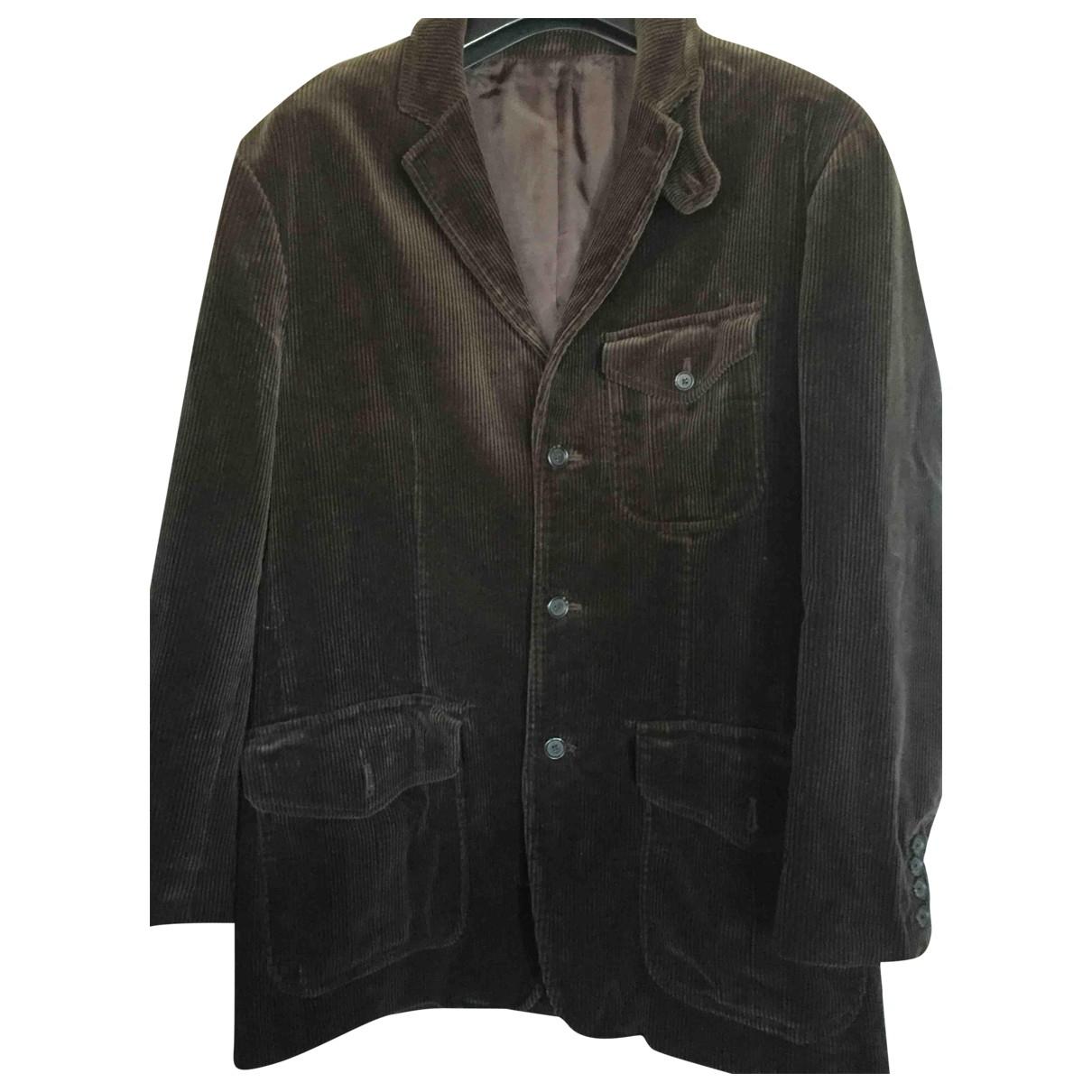 Polo Ralph Lauren \N Brown Velvet jacket  for Men L International